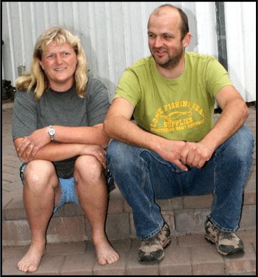 Siren og Jan Einar
